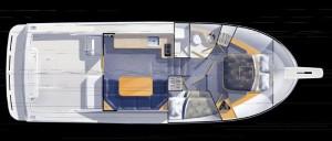 Skipjack 26 Interior
