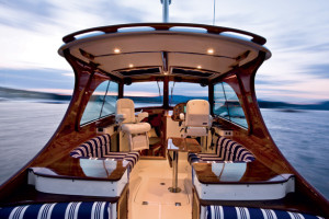 Hinckley yachts interior for sale