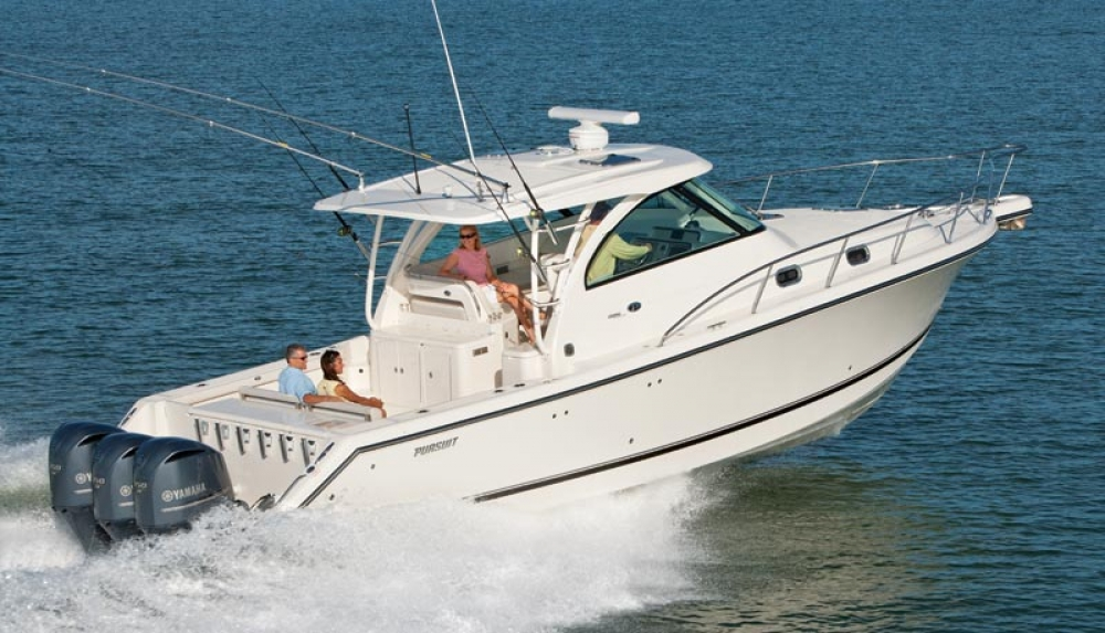 Pursuit boats for sale in san diego ballast point yachts for Fishing boats for sale san diego