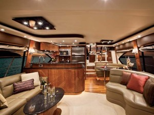 bayliner boats interior