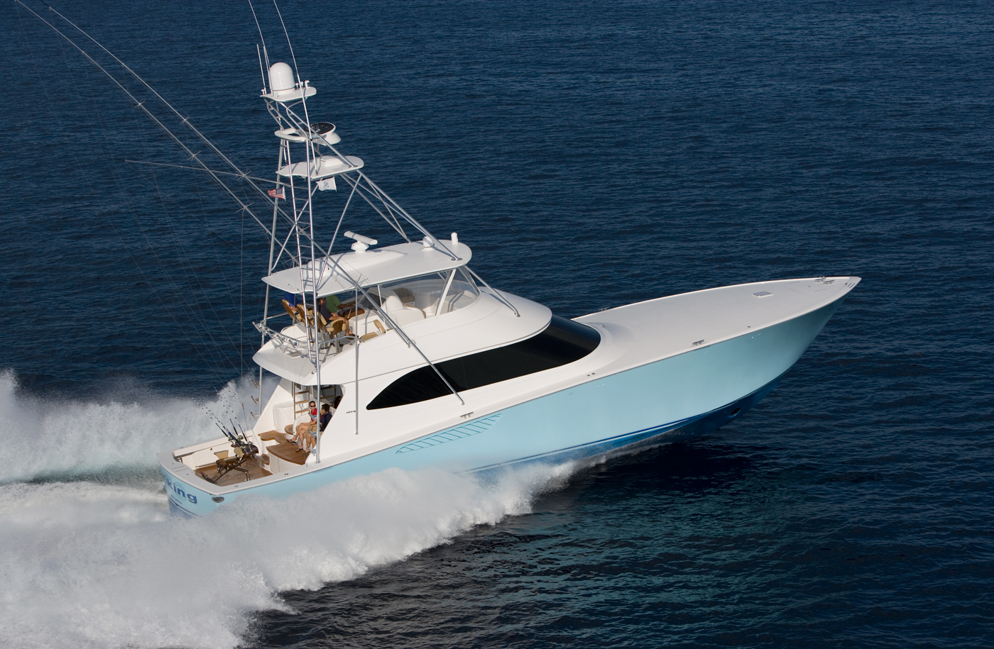 used viking yachts for sale