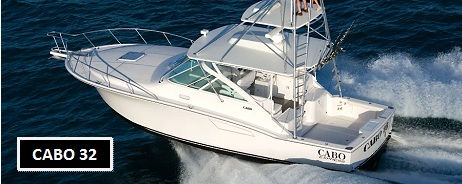 32' Cabo Yachts Express Boats For Sale