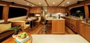 Hatteras GT 63 Interior