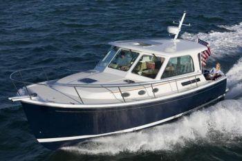 back cove motor yachts boat show