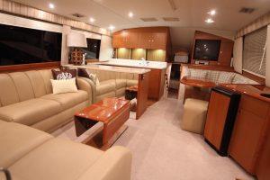 Ocean Yachts interior