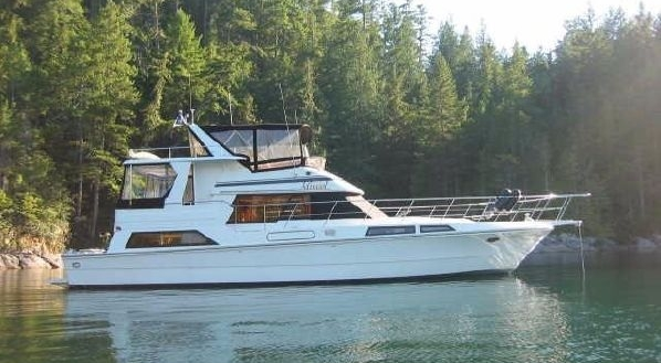 48' Vantare Cockpit Motor Yacht 1988