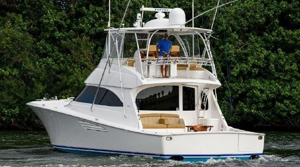55' Viking Convertible Sportfisher Boats For Sale