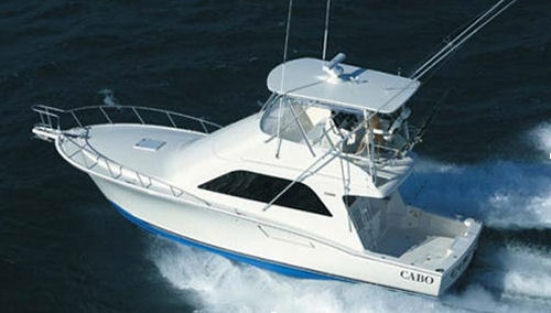Cabo Yacht 40' Flybridge Sportfisher 2006