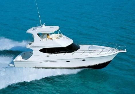48' & 50' Silverton Convertible Boats For Sale