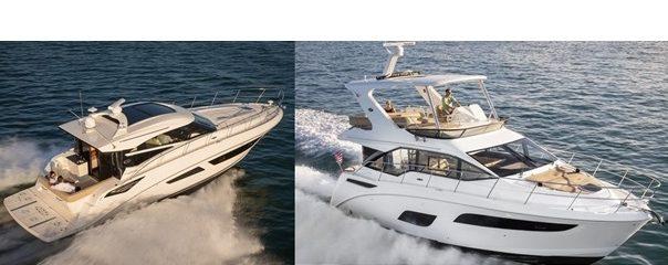 Sea Ray 460 Sundancer and Sedan Bridge Boats For Sale