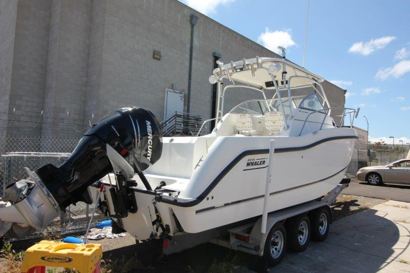 25' Boston Whaler 255 Conquest (2019 Re-power)
