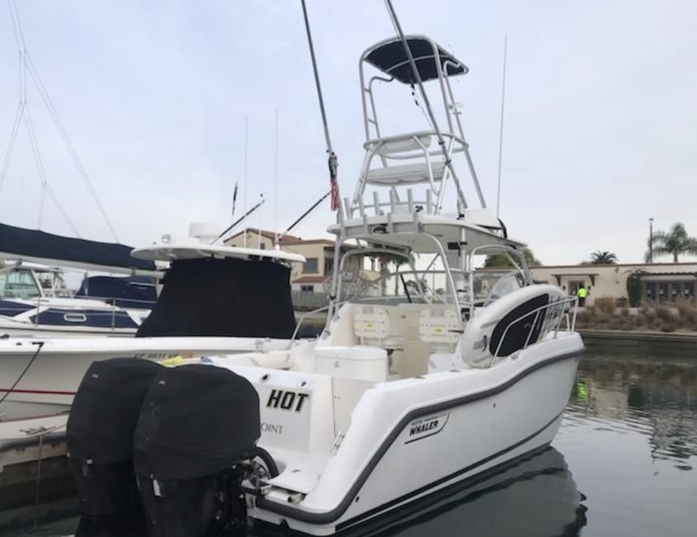 25'boston Whaler 255 Conquest 2006