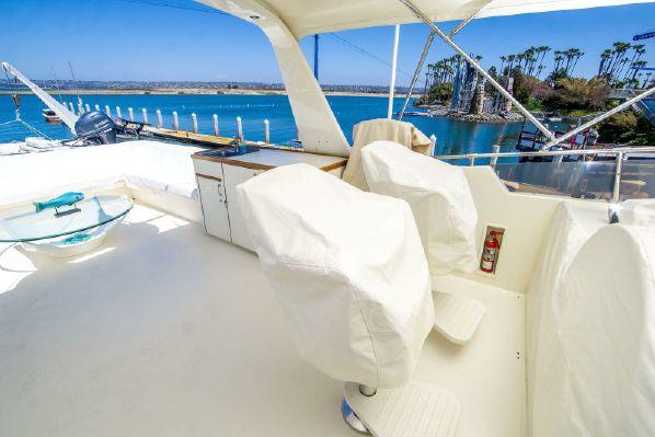 Hatteras 70 Cockpit Motor Yacht
